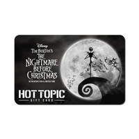 The Nightmare Before Christmas Moon $25 Gift Card