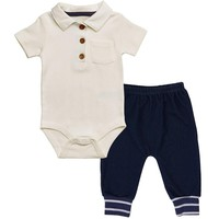 Polo Bodysuit Outfit
