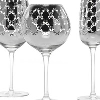 Montecito Stemware - Sets of 4 - Silver   Gifts for the Bar   Gifts   Z Gallerie