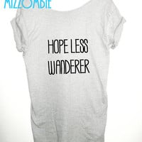 Mumford & Sons Inspired HOPELESS WANDERER off the shoulder slouchy loose fitting women ladies