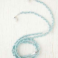 Cordinated  Metallic Yarn Ear Phones at Free People Clothing Boutique