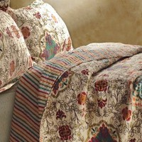 Candace Medallion Coverlet Set