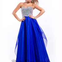 Jewel Encrusted Bodice by Party Time Formals 2751