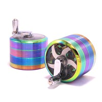 Grinder With Handle - 4 Pieces 2 1/2 Inches