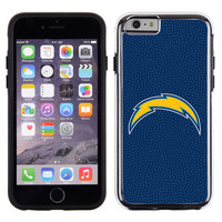 San Diego Chargers Team Color NFL Football Pebble Grain Feel IPhone 6 Case