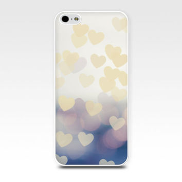 heart iphone case bokeh iphone 5s case iphone 4s lilac iphone case girly iphone 4 case iphone 5 abstract iphone case pastel pink iphone