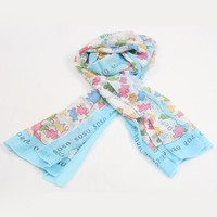 Perfect TOUS Woman Fashion Accessories Sunscreen Cape Scarf Scarves