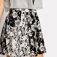 Free People Short Printed Culottes