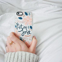 Girlish iPhone 6s & 6s Plus Case (Put on Love Pattern) by Casetify
