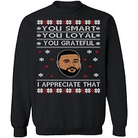 DJ Khaled Ugly Christmas Sweater