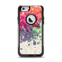The Vintage WaterColor Droplets Apple iPhone 6 Otterbox Commuter Case Skin Set