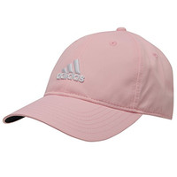 Adidas Performance Max Side Hit Baseball Cap Golf Hat Relaxed Fit (Pink)