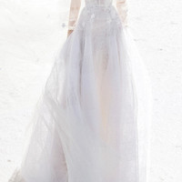 Anna Lace Floral Embellished Gown | Moda Operandi