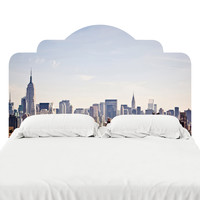 Empire State Of Mind Headboard Decal