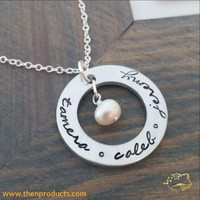 Personalized Necklace w/ Kids Names
