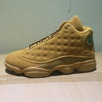 Nike Air Jordan 13 Retro Wheat 414571-705 Men Basketball Sneakers Sports Shoes