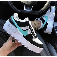 Nike Air Force 1 Shadow stitching macarons lightweight increase and low help wild shoes
