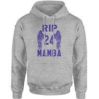 Black Mamba Rest In Peace Adult Hoodie Sweatshirt