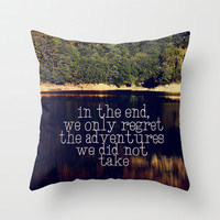 adventure Throw Pillow by ingz