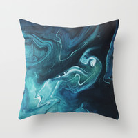 Gravity II Throw Pillow by Galaxy Eyes