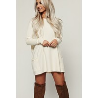 Eager Knit Tunic (Ivory)