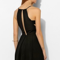 Chandi & Lia Fable Cutout Fit + Flare Dress - Urban Outfitters