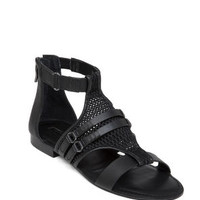 Barr Flat Honeycomb Mesh Sandal in Black - BCBGeneration