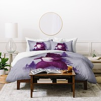Terry Fan Scare Bear Duvet Cover