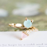 Gold the baby devil ring,R140N