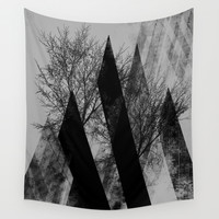 TREES V Wall Tapestry by Pia Schneider [atelier COLOUR-VISION]