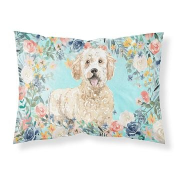 Goldendoodle Fabric Standard Pillowcase CK3426PILLOWCASE
