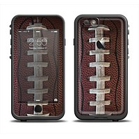 The Football Laced Apple iPhone 6 LifeProof Fre Case Skin Set