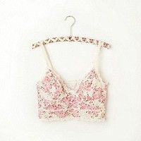 Intimately Free People Clothing Boutique > Tea Party Lace Crop Bra