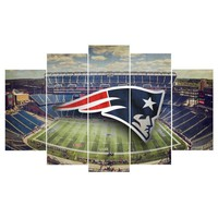 5 Panel New England Patriots Canvas Modular