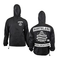Worldeater Black Windbreaker : NRTH : MerchNOW - Your Favorite Band Merch, Music and More