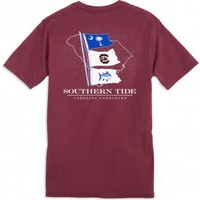 GAME DAY STATE FLAG T-SHIRT - UNIVERSITY OF SOUTH CAROLINAStyle: 2371_USC06