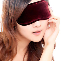 Fashionable Soft tourmaline Sleeping Eye Mask Nap Eye Shade Cartoon Blindfold Sleep Mask Eyes Cover Sleeping  Travel for good sleeping