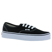 Vans Authentic Skate Shoes 5 (Black)