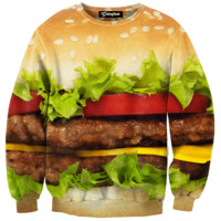 Hamburger Time Crewneck
