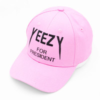 Yeezy For President Pink Hat