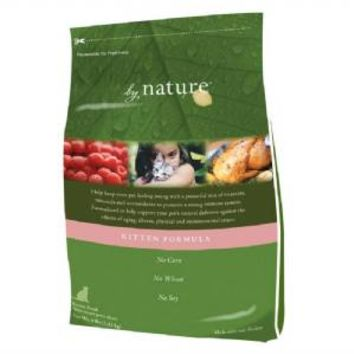 By Nature Kitten Formula Dry Cat Food 4 pound