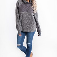 Luxe Life Pull Over (Grey)