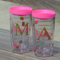 personalized cups, wedding party cups, acrylic tumbler, pacific tumbler, personalized tumbler, bachelorette party cups, birthday party cups