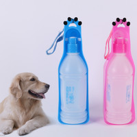 Newest Dog Cat Pet Puppy Drinker Fresh Water Bottle Travel Bowl Mobile Drink HOT Free Shipping