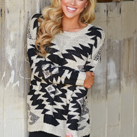 The Best Of Everything Aztec Sweater