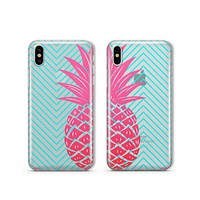 Best Friends Pineapple - Clear TPU - iPhone Case