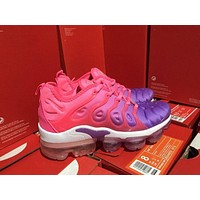 Women Nike 2018 TN Air Vapormax Plus Vascular Pink/Purple Gradient Shoe 36-39