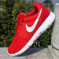 """""""NIKE"""" Trending Fashion Casual Sports Shoes Black Red"""