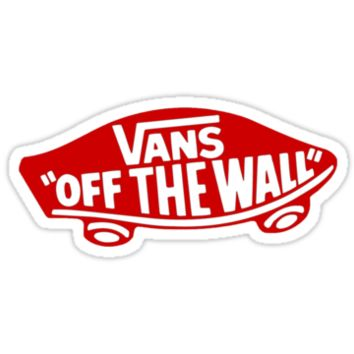 Vans Off The Wall Red Badge Logo