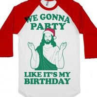 White/Red T-Shirt | Funny Christmas Holiday Shirts